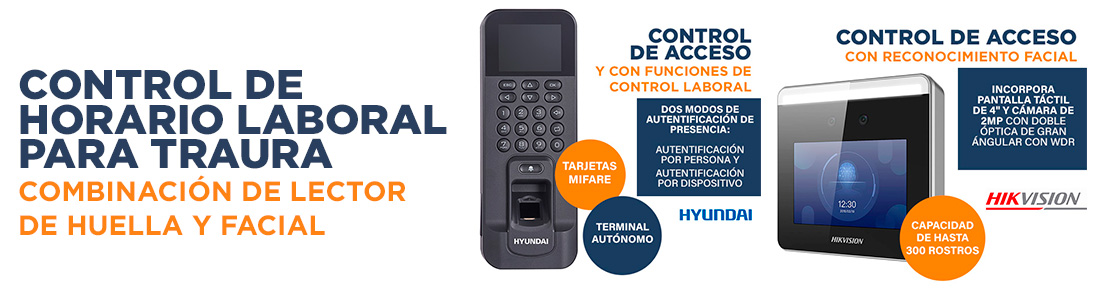 Instalación de Control de Horario Laboral para TRAURA (Pinto / Getafe, Madrid)
