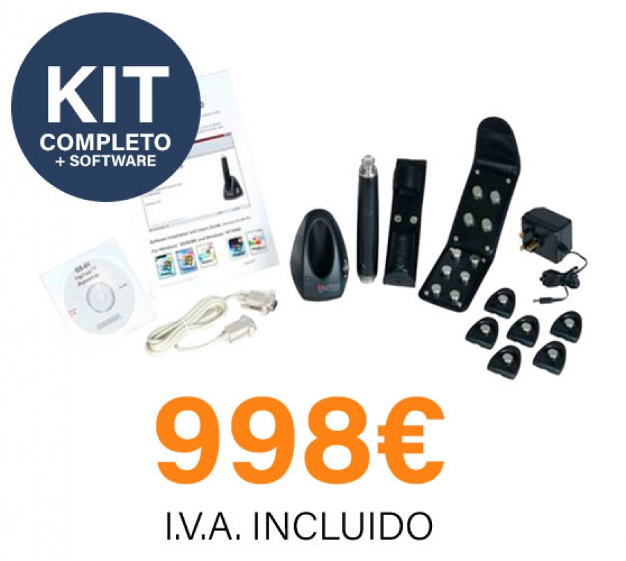 KIT Completo para Control de Rondas de vigilancia
