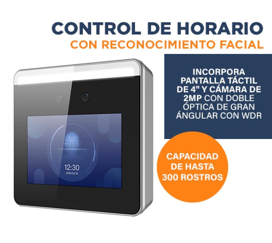 Control Presencial y Horario Laboral Facial