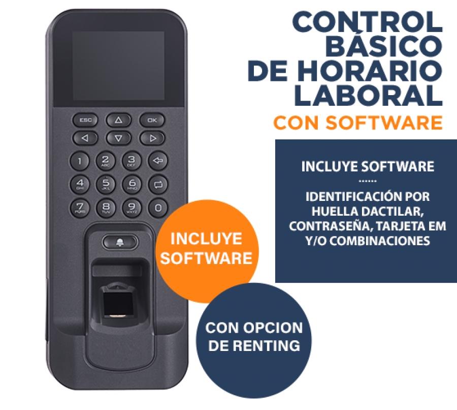 Lector Biométrico para Control de Presencia Laboral Básico para PYMES